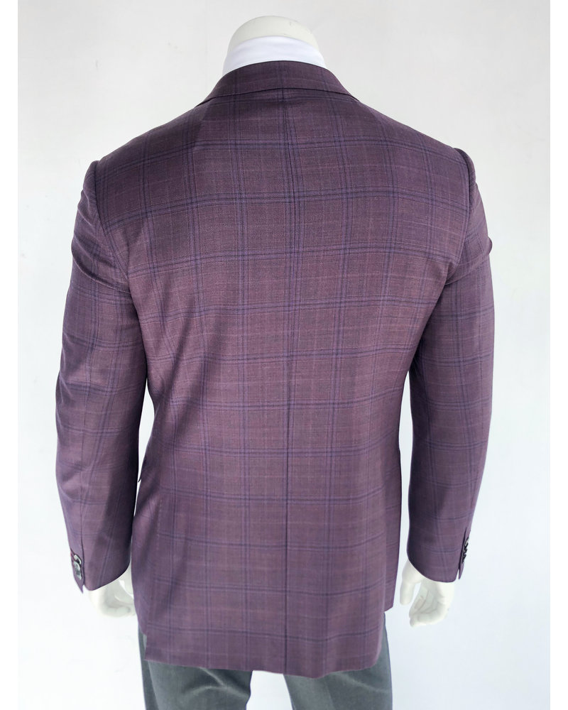 Byron Byron Mauve Plaid Sport Coat