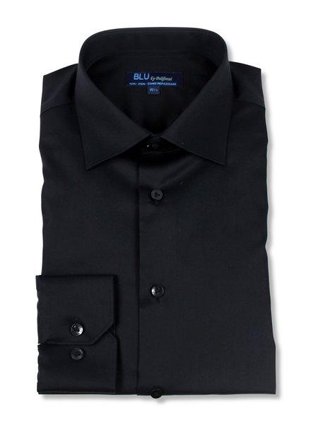 Blu by Polifroni Black Dress Shirt