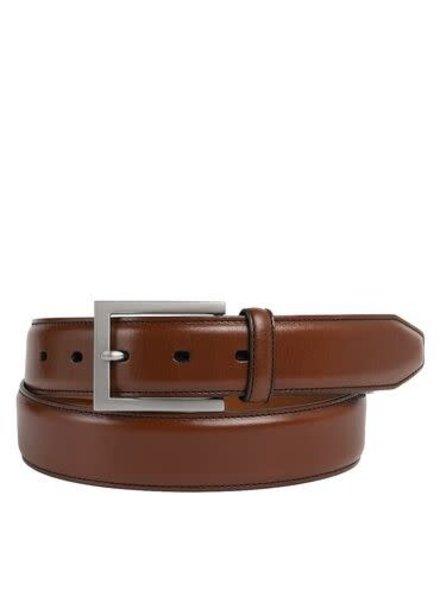 Johnston & Murphy Tan Dress Belt