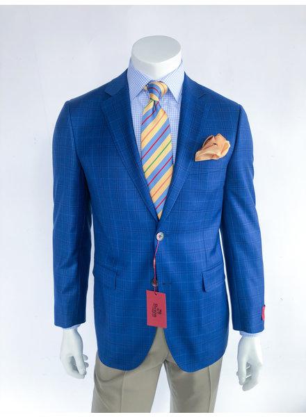 Byron Blue Plaid Sport Coat
