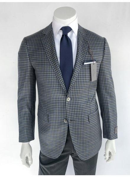 Byron Grey Plaid Sport Coat