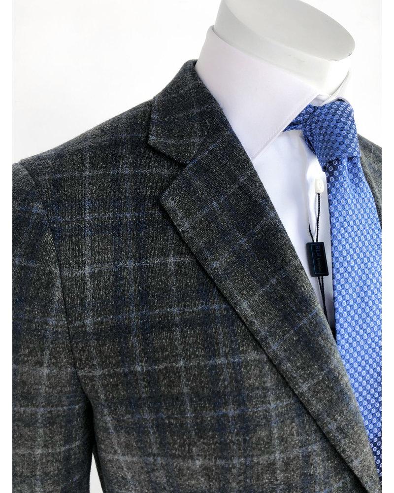 Max Davoli Max Davoli Grey Plaid Sport Coat