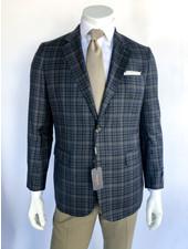 Max Davoli Grey Multi Sport Coat