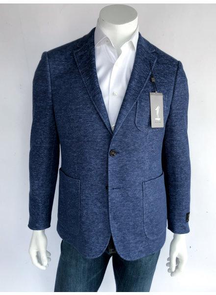 Blue Knit Sport Coat