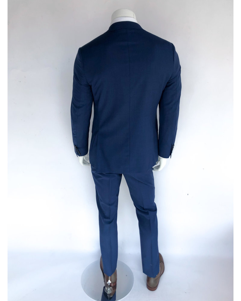 Trend Trend French Blue Sharskin Suit