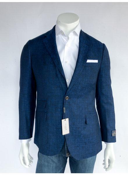 Trend Blue Textured Sport Coat