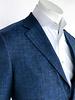 Trend Trend Blue Textured Sport Coat