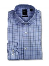 Serica Elite Blue Plaid Dress Shirt