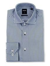 Serica Elite Black Stripe Dress Shirt