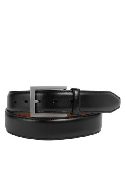 Johnston & Murphy Black Dress Belt