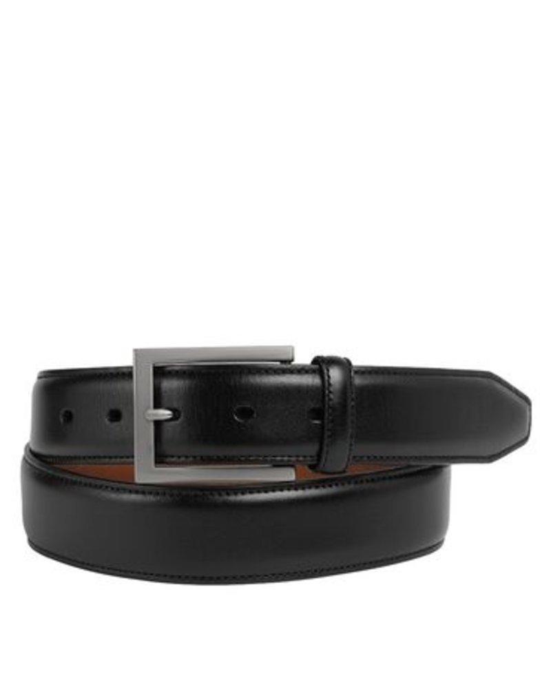 Johnston & Murphy Johnston & Murphy  Black Dress Belt