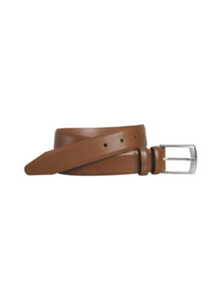 Johnston & Murphy Tan Feather-Edge Belt