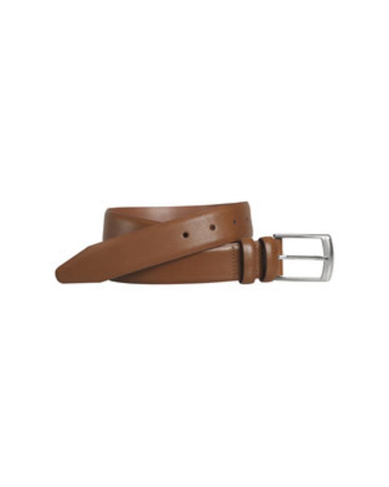 Johnston & Murphy Johnston & Murphy Tan Feather-Edge  Belt