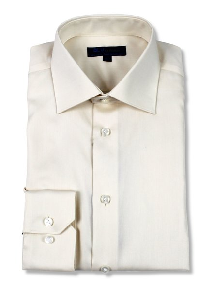Blu by Polifroni Ecru Dress Shirt
