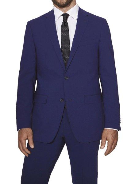 S Cohen Modern Fit Hot Blue Smart Suit