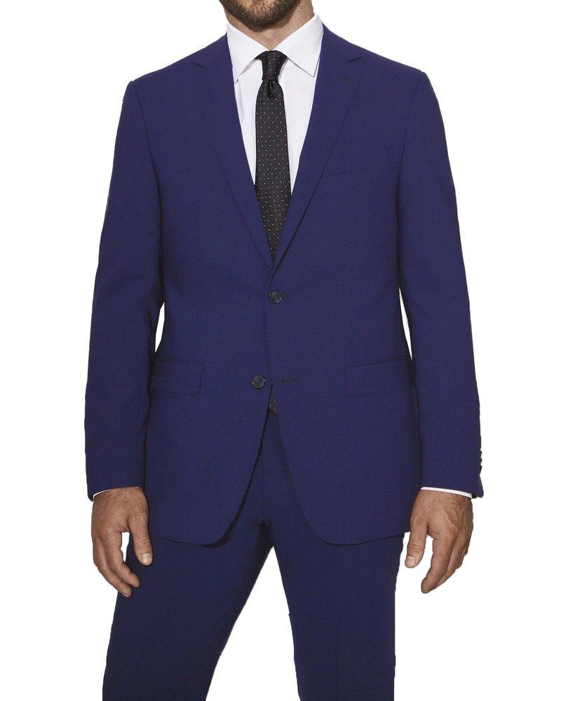 S Cohen S. Cohen Modern Fit Hot Blue Suit