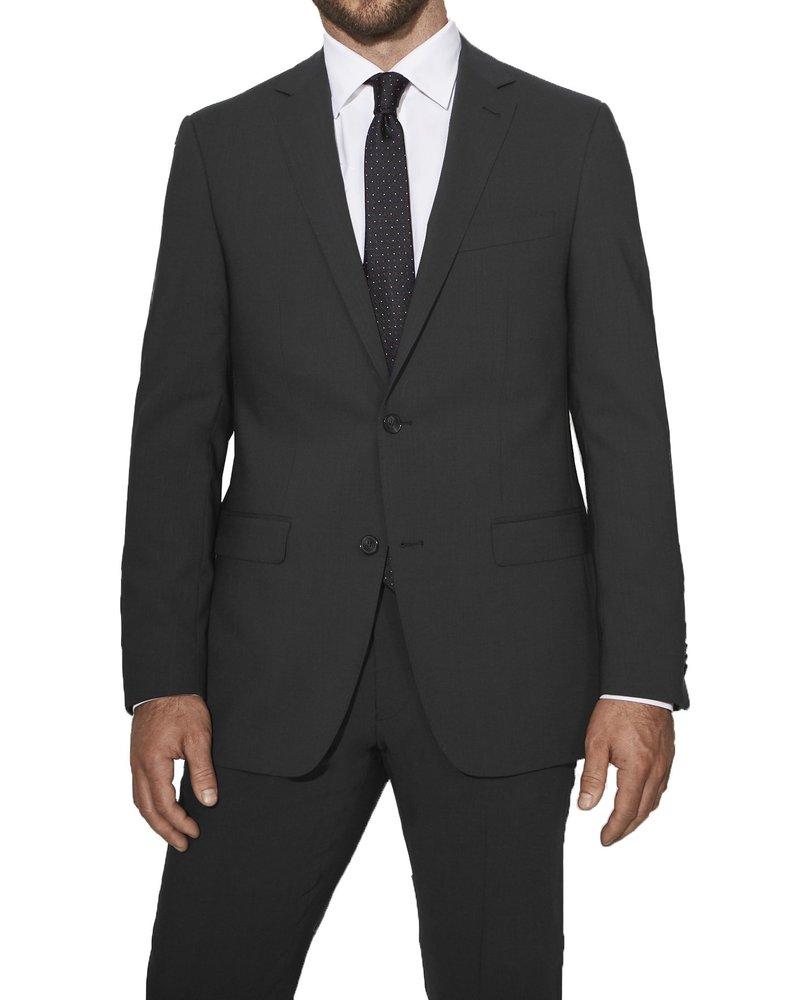 S Cohen S. Cohen Classic Fit Grey Smart Suit