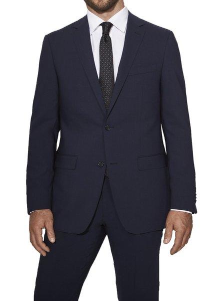 S Cohen Classic Fit Navy Smart Suit