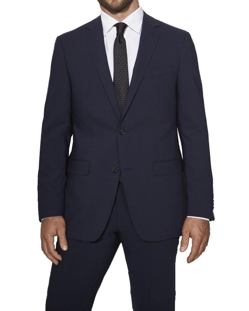 S Cohen S. Cohen Classic Fit Navy Smart Suit