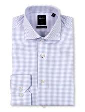 Serica Elite Lavender Check Dress Shirt