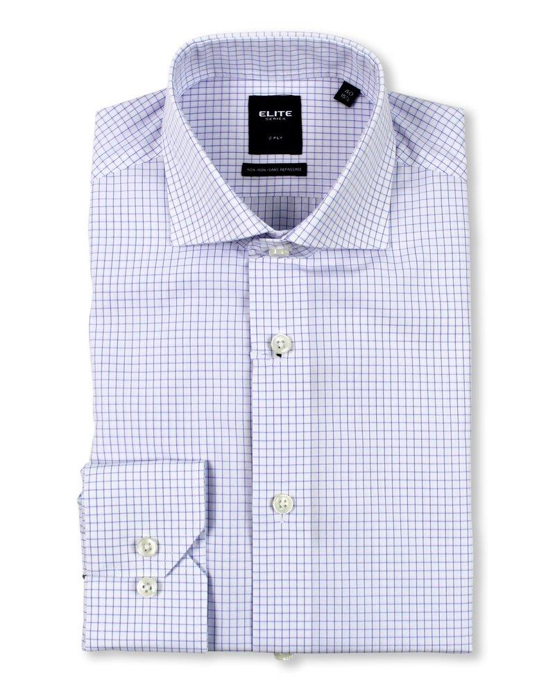 Serica Serica Elite Lavender Check Dress Shirt