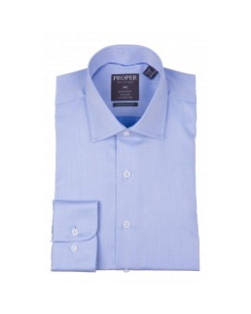 Proper Wrinkle-Free Lt. Blue Dress Shirt
