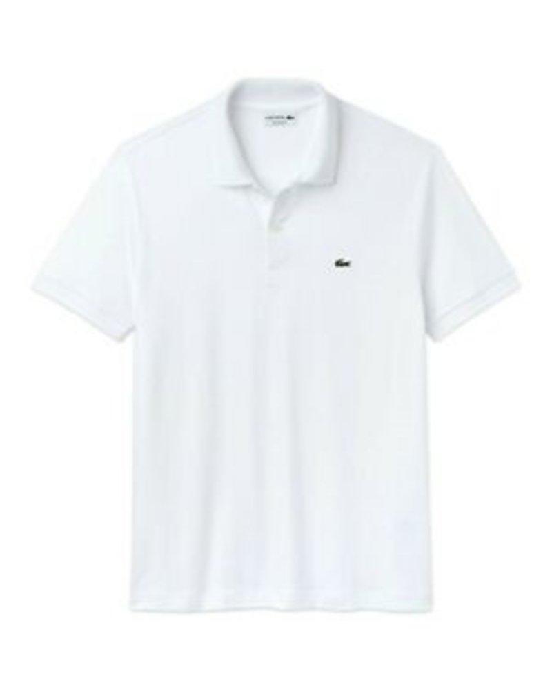 Lacoste Lacoste White Cotton Polo