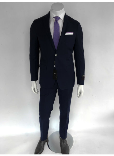 Tiglio Porto Navy Slim Fit Suit