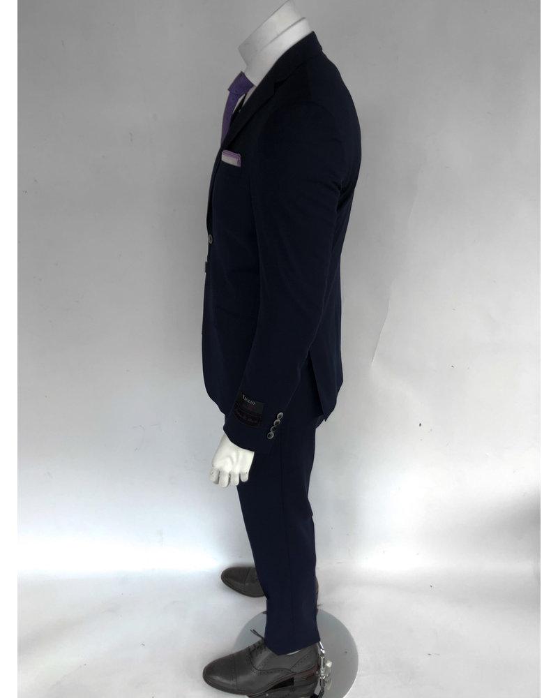 Tiglio Tiglio Porto Navy Slim Fit Suit