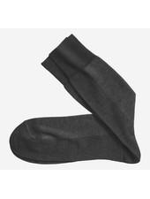 Johnston & Murphy Black Herringbone Socks