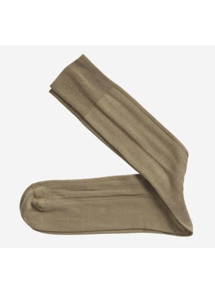 Johnston & Murphy Solid Tan Socks