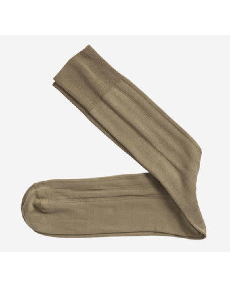 Johnston & Murphy J&M Solid Tan Socks