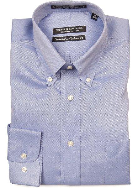 Forsyth Blue Button Down Collar Dress Shirt