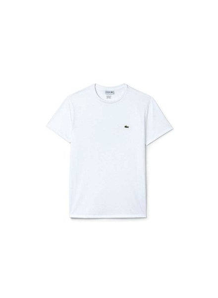 Lacoste Crew Neck Pima Cotton T-Shirt -White