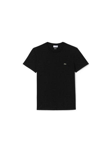 Lacoste Crew Neck Pima Cotton T-Shirt -Black