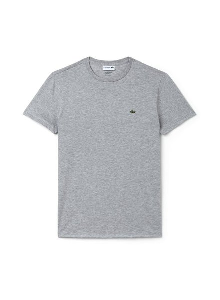 Lacoste Crew Neck Pima Cotton T-Shirt -Grey
