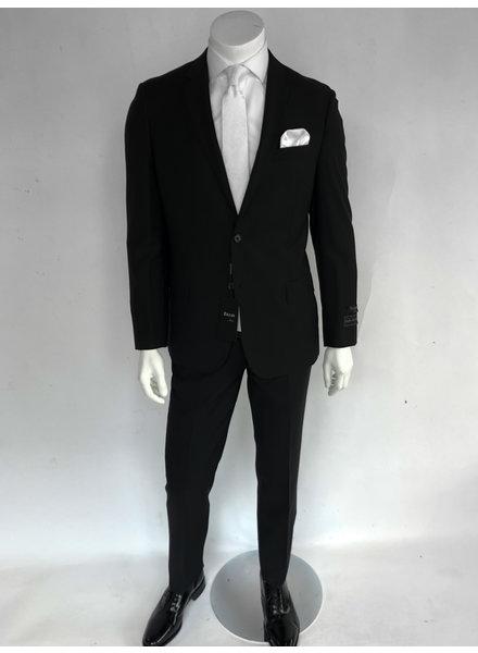 Tiglio Novello Black Modern Fit Suit