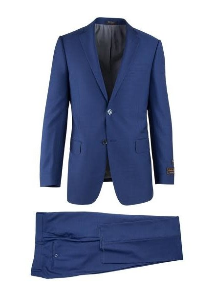 Tiglio Novello French Blue Modern Fit Suit