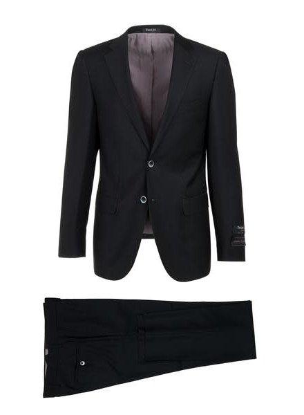 Tiglio Porto Black Slim Fit Suit