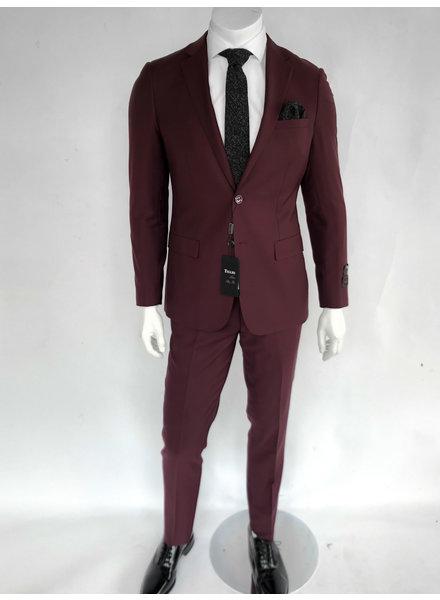 Tiglio Porto Burgundy Slim Fit Suit