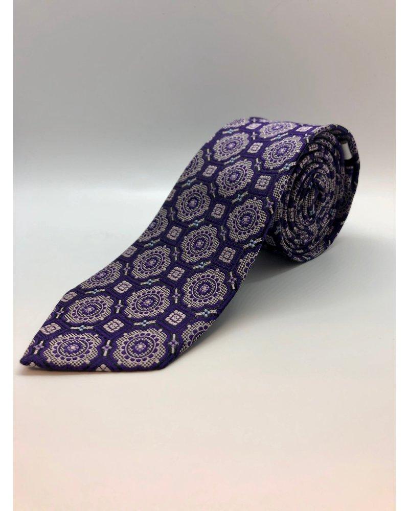 Central Park Tie Purple