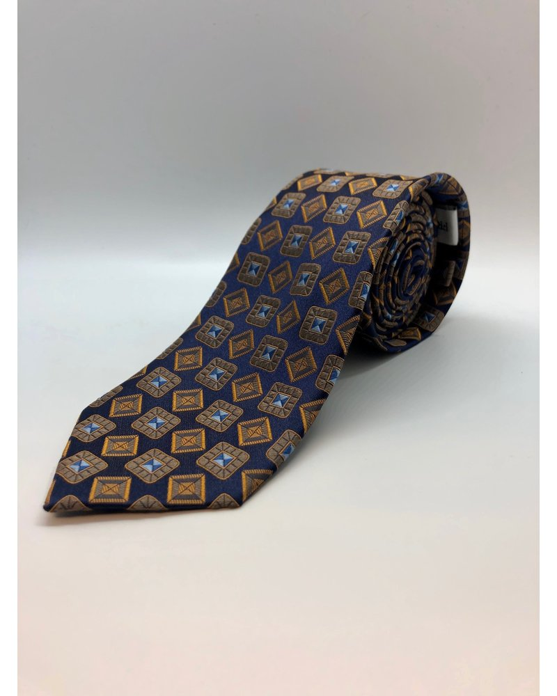 Class Ring Tie Gold
