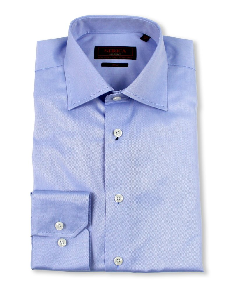 Serica Serica Classic Powder Blue Dress Shirt