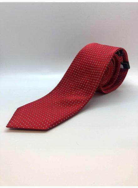 Serica Polka Dot Tie Red