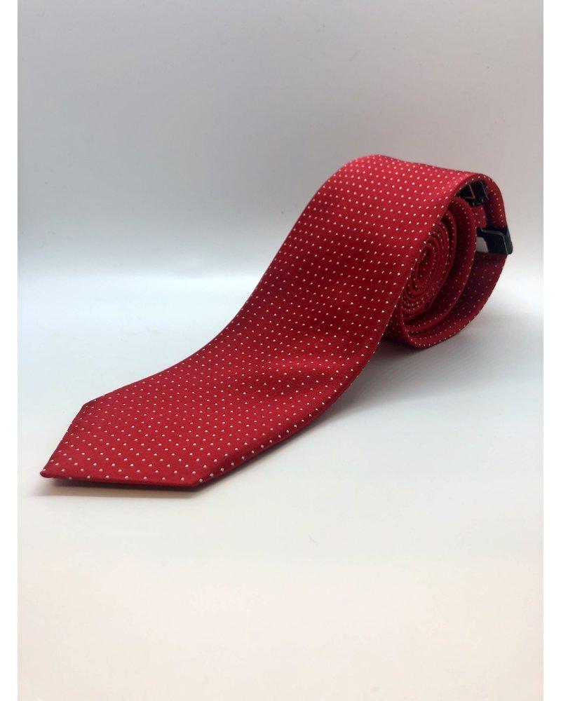 Serica Serica Polka Dot Tie Red