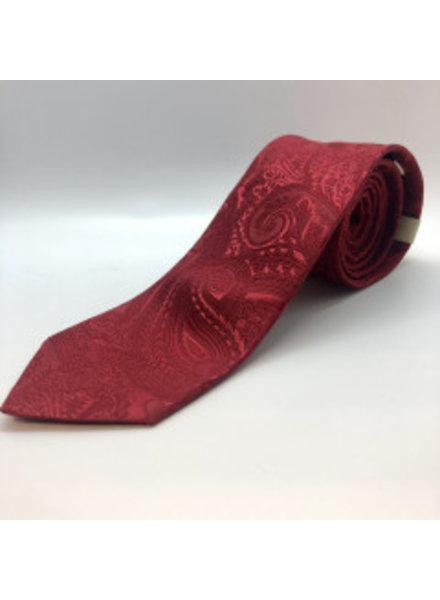 Serica Paisley Tie Red