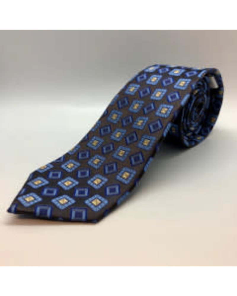 Class Ring Tie Brown