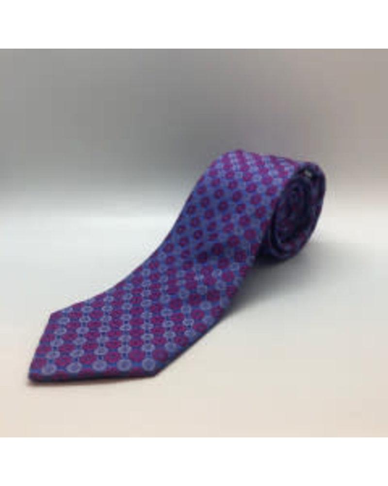 Mini Hexagon Tie Lt. Blue