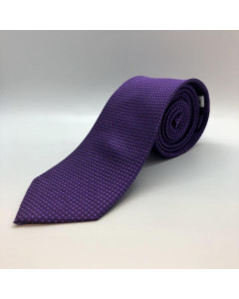 Tonal Dot Tie Purple