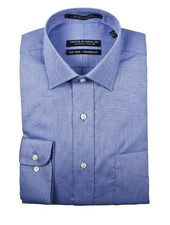 Forsyth Blue Non-Iron Dress Shirt